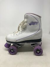 Roller Derby Roller Star 600 Quad Skate White and Purple Size 5