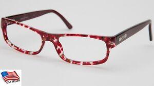 NEW D&G Dolce& Gabbana D&G 1156 817 RED HAVANA EYEGLASSES  50-16-140 B28 Italy