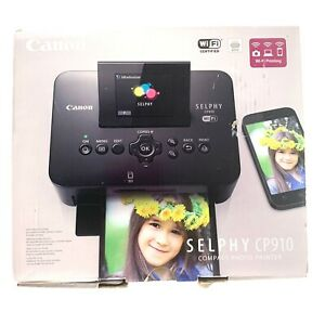 Canon Selphy CP910 Digital Photo Dye Sublimation Printer