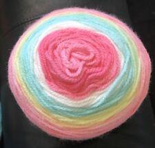Choco Berry Glitter Cake 150g Silver Sparkle Yarn wool crochet knitting DK