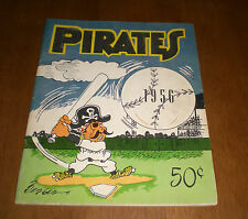 1956 PITTSBURGH PIRATES OFFICIAL YEARBOOK