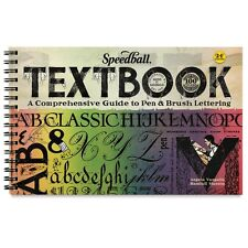 The Speedball Textbook 24rd Edition Lettering Guidebook