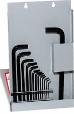 Eklind #13216: 16pc SAE Ball-End Hex L-Key Set. Sizes = .050in to 5/8in