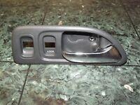 98-02 OEM Honda Accord S84 LX 4dr interior front left door panel handle FL blue