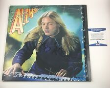 Gregg Allman Brothers Signed Autographed Playin' Up A Storm Vinyl Album Beckett