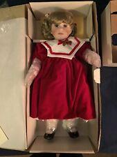 """Hallmarked #969 of 2500 Marie Osmond Doll-22"""" CAROLINE by Rita Schmidt"""