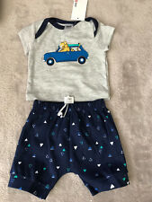 TARGET Grey/blue Pj pyjamas shorts Set *BNWT* 000. 10 Items =$5 Post