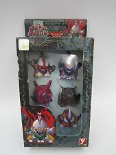 Aura Battler Dunbine Finger Puppets Figure Set YUTAKA Japan Super Robot Wars