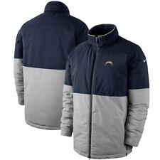 L.A. Chargers Nike Navy/Gray 2019 Sideline Shield Performance Full-Zip Jacket