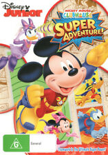 Mickey Mouse Clubhouse: Super Adventure!  - DVD - NEW Region 4