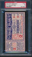 1930 World Series Ticket Game 2 - Shibe Park PSA 5 (EX) - Highest Graded!