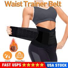 Sport Waist Trainer Weight Loss Sweat Thermo Wrap Body Shaper Sport Girdle Belt