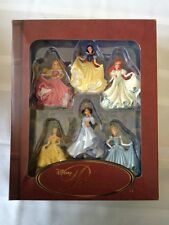 Disney Princess Storybook Ornament Set Cinderella Aurora Belle Jasmine Ariel NEW