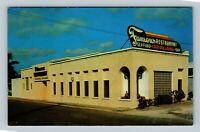 Lake Worth FL, Famous Restaurant, Cocktail Lounge, Chrome Florida Postcard