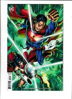 Justice League DC Comics #17 NM- 9.2 Cover B Variant Batman Superman 2019