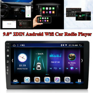 """9.0"""" 2DIN LVDS Screen 2+32GB Android Wifi Auto Stereo Audio Radio  Player AUX"""