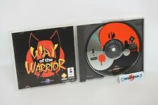 WAY of the WARRIOR Ref/119 3DO Real Panasonic Japan Game 3d