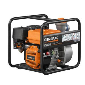 Generac 6918 - 2'' Clean Water Pump - 49 State/CSA