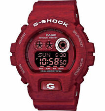 Mens Casio G-Shock Heather Red Rubber Chronograph Alarm Sport Watch GDX6900HT-4