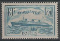 "FRANCE STAMP TIMBRE 300b "" PAQUEBOT NORMANDIE 1F50 TURQUOISE "" NEUF xx LUXE N633"