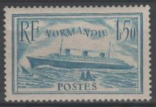 "FRANCE STAMP TIMBRE 300b "" PAQUEBOT NORMANDIE 1F50 TURQUOISE "" NEUF xx TTB  N651"