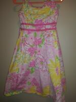 Lilly Pulitzer Little Girls Spring In Bloom  Dress Sz 5 Adorable 🌼