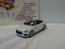"""Herpa 028769 - Audi A5 Cabrio mit Dach in """" ibisweiß """" 1:87 NEU"""
