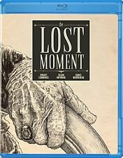 THE LOST MOMENT  (1947 Robert Cummings) Region A - BLU RAY - Sealed