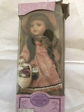 "Dolgencorp, Inc - Collectible 12"" Bisque Porcelain Doll - No Name"