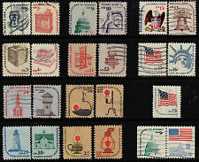 Scott #1581-1612 + 1623 Used Set of 23, The Americana Series