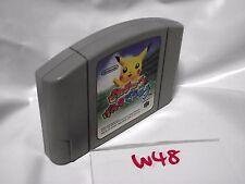Free Shipping Hey You, Pikachu Genki De Chu (Nintendo 64 1998) Japan Version W48