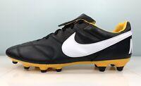 Nike Premier II FG Soccer Cleats Black Yellow 917803-017 Men Size 11