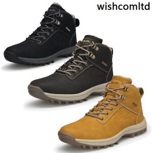 Winter Snow Shoes Mens Hiking Boots Walking Trekking Trail Trainers Size UK12 13
