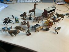 Charbens Circus series (plus others) 26 piece vintage toy figures,