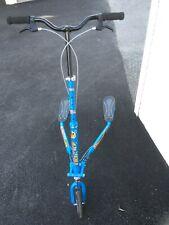 Trikke T67S 3 Wheel Scooter Folding Blue