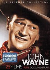 JOHN WAYNE THE ULTIMATE TRIBUTE FILMS COLLECTION NEW 4 DVD 25 MOVIES BOXSET R4