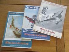 3 CATALOGUE OUVRAGE SUR AVIATION HISTORIC AVIATION 1979-1983 AEROPLANE AVIATEUR