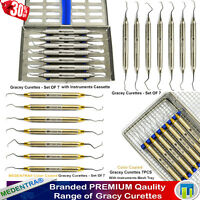 Periodontal Dental Gracey Curettes Perio SubGingival Scaling/Root Planing Scaler