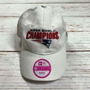 New Era Women Hat White New England Patriots Champions Super Bowl 51 Adjustable