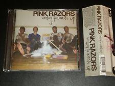 PINK RAZORS: Waiting To Wash Up CD — Richmond POP PUNK — Robotic Empire