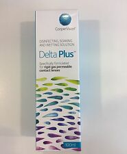 Sauflon Delta Plus Disinfecting, Soaking & Wetting Solution 100ml gas permeable