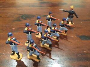 """Timpo Union/ US 7th Cavalry - """"Firing Squad"""" - Wild West - 1970's"""