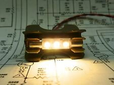 7 X Warm White LED Fuse Lamps for PIONEER SX-939