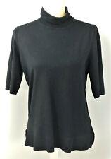 Alfani Women Black Pullover Sweater XS Preowned