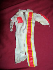 """Old Racing Coveralls Flight Suit Jumpsuit 12"""" Action Figure Clothes Motorcycle"""