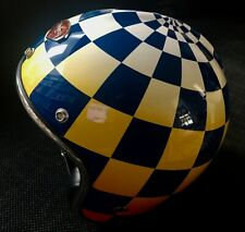 New  Ruby Pavillon Checkered  Carbon Helmet