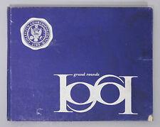 GEORGETOWN UNIVERSITY School of Medicine YEARBOOK - 1961 Grand Rounds - Wash. DC