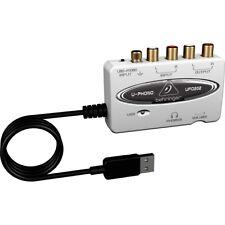 BEHRINGER U-PHONO UFO202 scheda audio usb portatile interface NUOVA garanzia ITA