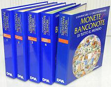 De Agostini Enciclopedia CONOSCERE E COLLEZIONARE MONETE E BANCONOTE di tutto il