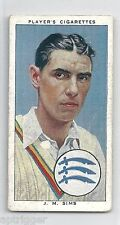 1938 John Player & Sons (23) J. M. SIMS Middlesex & England